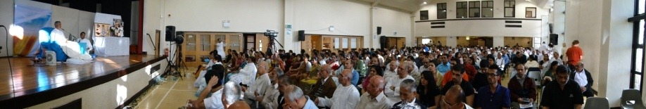 Self realization ceremony in Ashton(Manchester)-2011