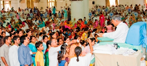 Darshan At Hindi Shibir-2011