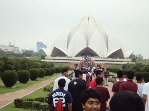 Lotus Temple-Delhi