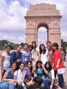 Sight seeing-India-Gate-New Delhi