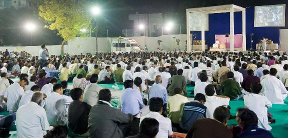 Spiritual discourse at Ahmedabad-2011