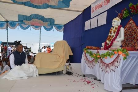 Ground breaking Ceremony by Pujya Deepakbhai-Morbi