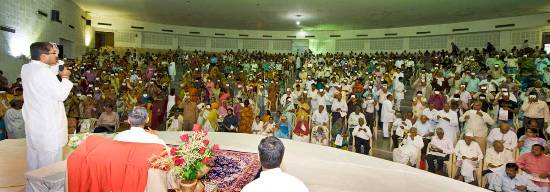 Self Realization Ceremony in Bhopal-2012