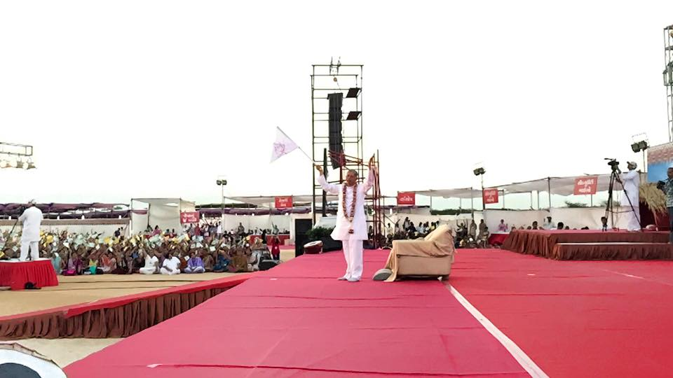 Flag Hosting By Pujya Deepakbhai