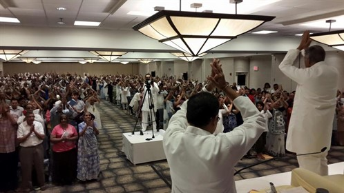Self Realization Ceremony In Lowell , USA 1