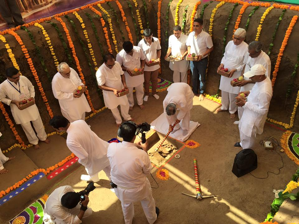 Vadodara Trimandir Ground Breaking 2