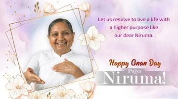 Happy Gnan Day Pujya Niruma!